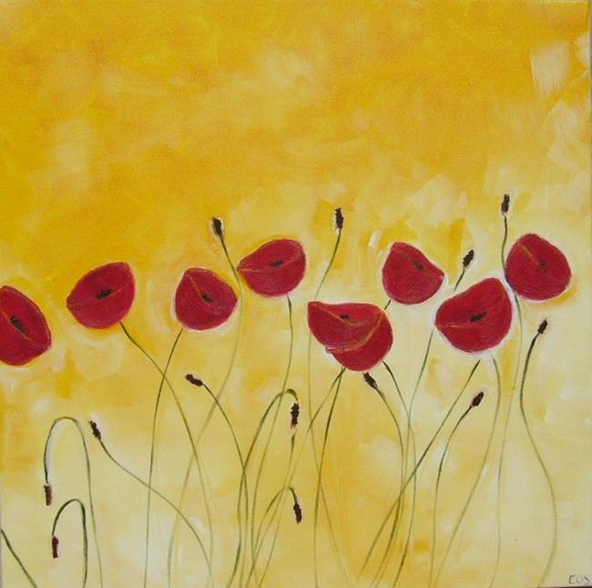 Art: Gabi's Poppies 2 by Artist Eridanus Sellen