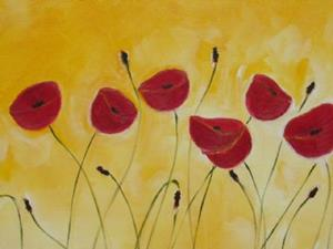 Detail Image for art Gabi's Poppies 2