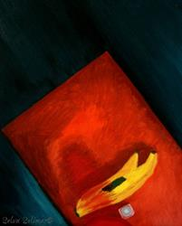 Art: Bananas, Salt & Cherry Kool Aid by Artist Selva  Solimar
