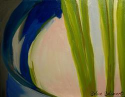 Art: Wheatgrass... by Artist Selva  Solimar