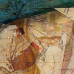 Detail Image for art Girl in a Green Hat: the Color of Envy