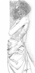 Art: The Sophisticate by Artist Alma Lee