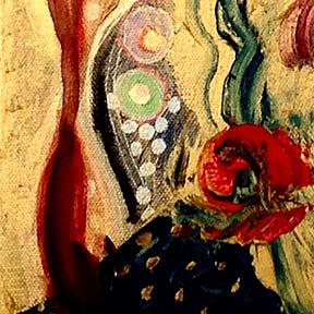 Detail Image for art Woman in Red