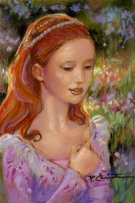 Art: Princess Dreams ~ Sold by Artist Patricia  Lee Christensen