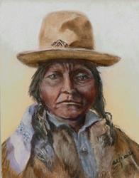 Art: Sitting Bull   by Artist Shirley James