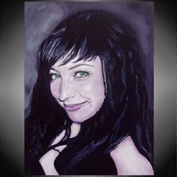 Art: Tammy Lee Actress NZ by Artist Doe-Lyn