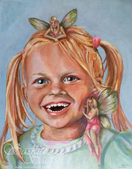 Art: Fairy Friends by Artist Saskia Franken-Saers