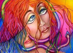 Art: Eve of Destruction by Artist Alma Lee