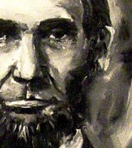 Detail Image for art Abraham Lincoln - Portrait