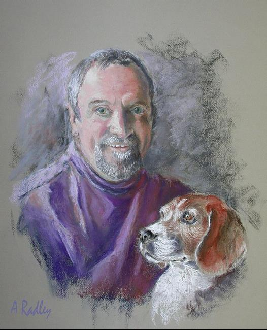 Art: Stephen and Jack by Artist Ann Radley