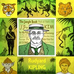 Art: Rudyard KIPLING by Artist Paul Helm
