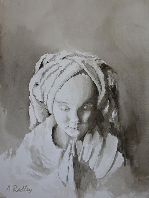 Art: Innocent Prayer by Artist Ann Radley