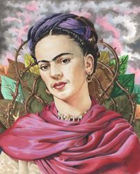 Art: Frida.jpg by Artist Mark Satchwill