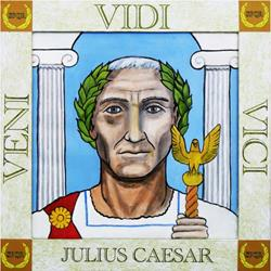 Art: Julius Caesar by Artist Paul Helm