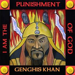 Art: Genghis Khan by Artist Paul Helm