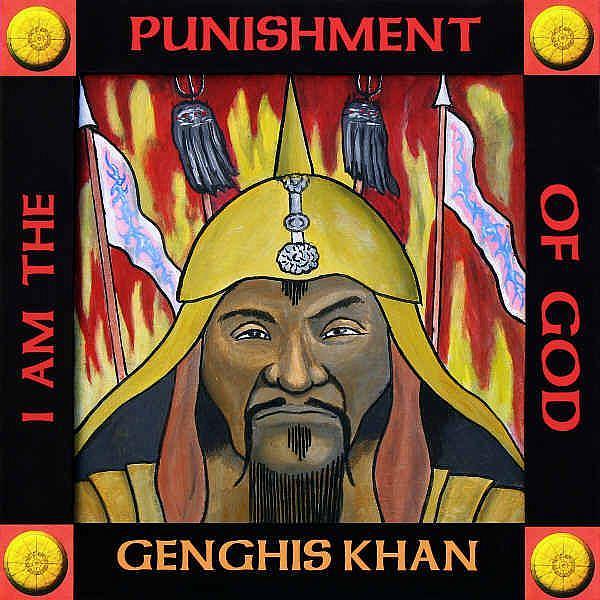 Art: Genghis Khan by Artist Paul Helm