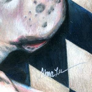 Detail Image for art Capt. Tiberius, Harlequin Boxer