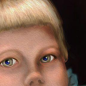 Detail Image for art Alma Lee: as a Child