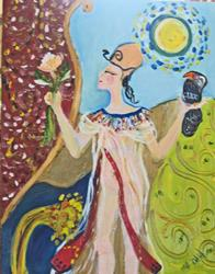 Art: Queen Mertaten by Artist Delilah Smith