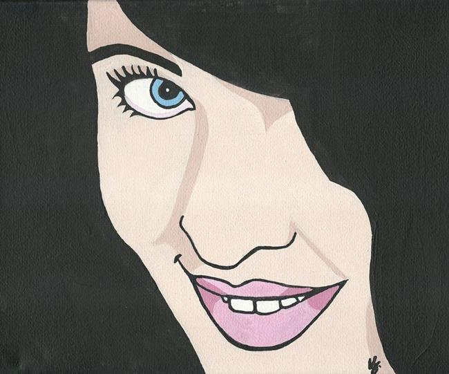 Art: I've got a secret... by Artist Kris Jean
