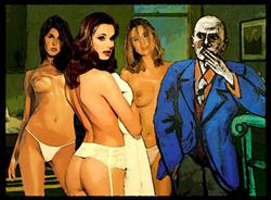 Art: Judgement of Paris #2 by Artist David Mott