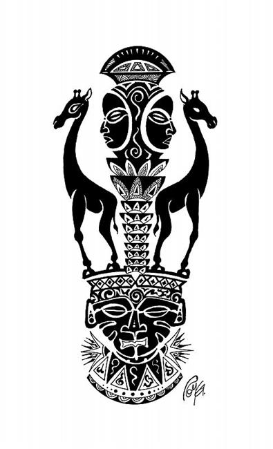 Art: Protectors by Artist Roy Guzman