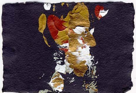 Art: Monoprint A6/01  by Artist Gabriele Maurus