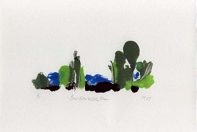 Art: Barbarossasee by Artist Gabriele Maurus