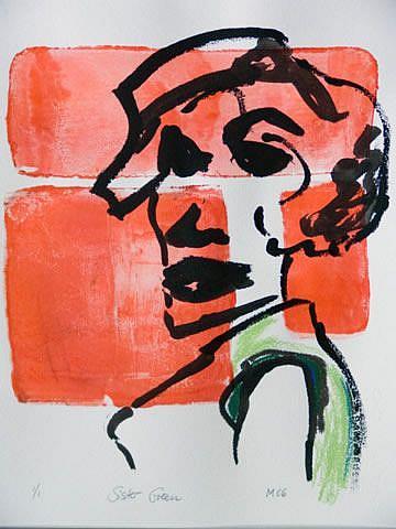 Art: SISTER GREEN by Artist Gabriele Maurus