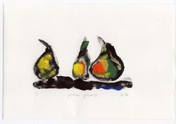 Art: Prime Pears by Artist Gabriele M.