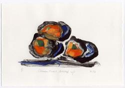 Art: Clementines Dressed Up by Artist Gabriele M.