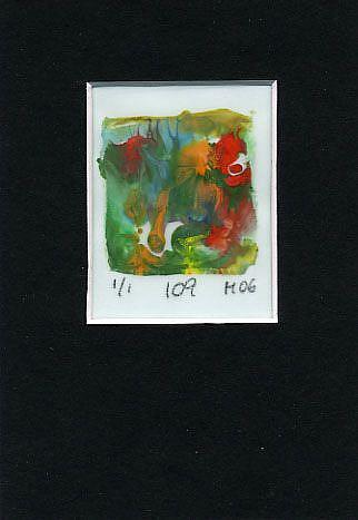 Art: Print 109 by Artist Gabriele Maurus