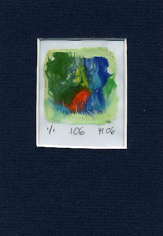 Art: Print 106 by Artist Gabriele Maurus