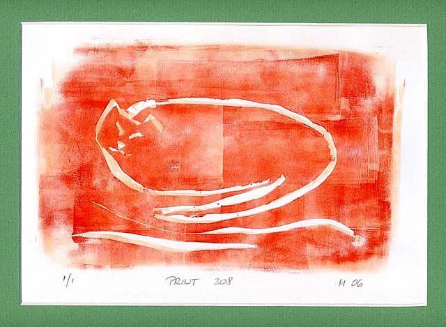 Art: Print 208 by Artist Gabriele Maurus