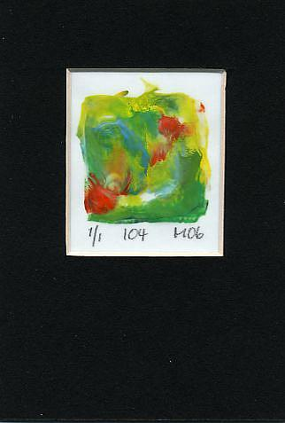 Art: Print 104 by Artist Gabriele Maurus