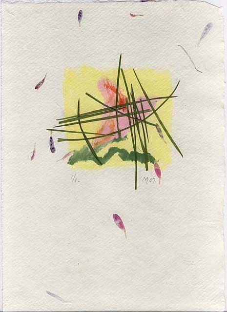 Art: Planten IV by Artist Gabriele Maurus
