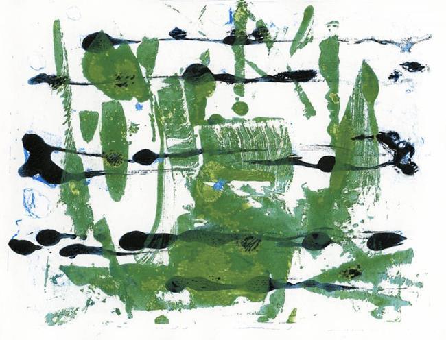 Art: Swamp Dance by Artist Gabriele Maurus