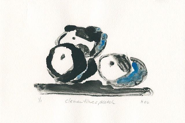 Art: Clementines Sketch by Artist Gabriele Maurus