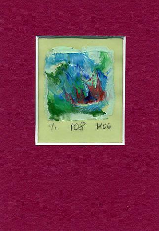 Art: Print 108 by Artist Gabriele Maurus
