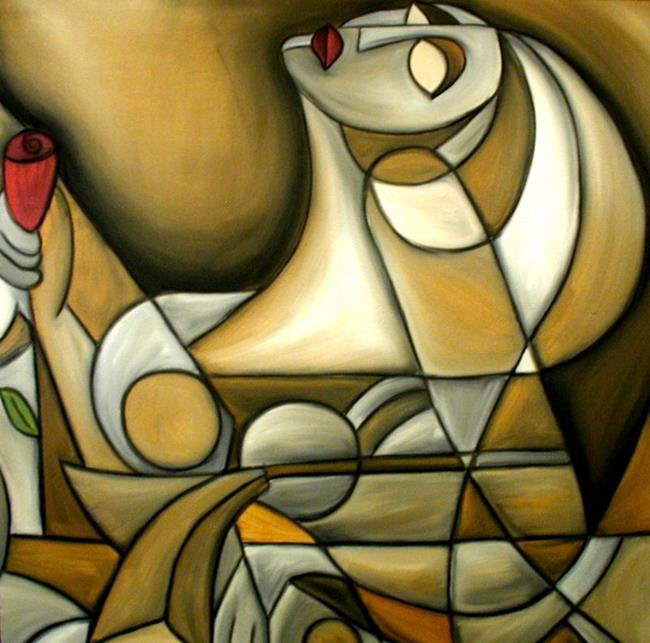 Art: Cubist 4p by Artist Thomas C. Fedro