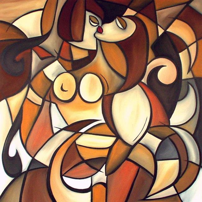Art: Cubist 8p by Artist Thomas C. Fedro