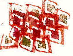 Art: Alsterschleuse by Artist Gabriele M.
