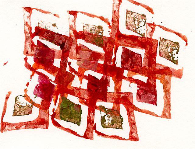 Art: Alsterschleuse by Artist Gabriele Maurus