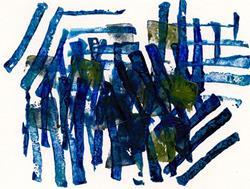 Art: Hurdle Patterns by Artist Gabriele M.