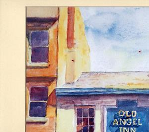 Detail Image for art Old Angel Inn, Lace Market, Nottingham