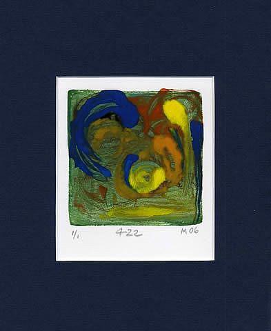 Art: Print 422 by Artist Gabriele Maurus