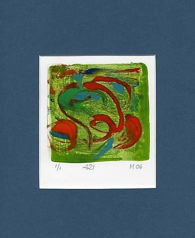 Art: Print 421 by Artist Gabriele Maurus