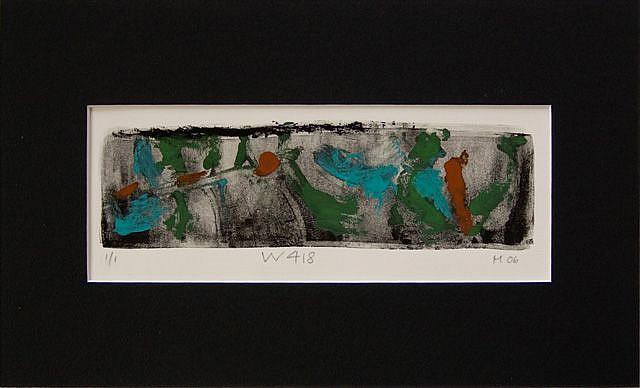 Art: Print W418 by Artist Gabriele Maurus