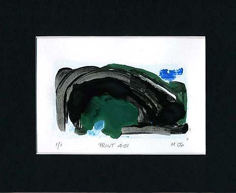 Art: Print 401 by Artist Gabriele Maurus