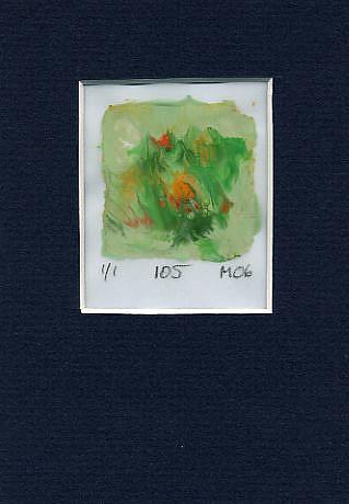 Art: Print 105 by Artist Gabriele Maurus
